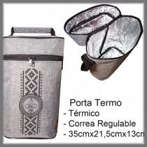 PORTA TERMO TERMICO CON CORREA REGULABLE