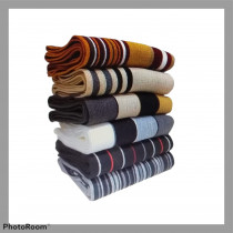 bufanda bariloche lisas/rayadas